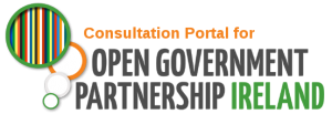 Consulation Portal for Open Government Partnership Logo